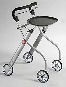 Andador/andador para interior con 4 ruedas - plegable ...