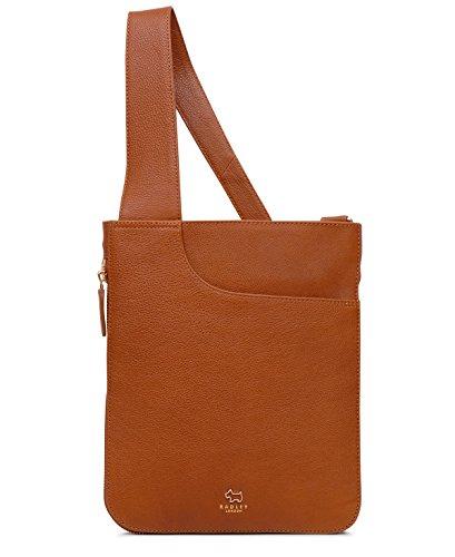 Radley London Pocket Bag Medium Zip-Top Crossbody (Brown_tan, Braun)