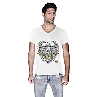 Creo Black Eagles T-Shirt For Men - L, White