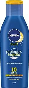 Nivea Sun - Leche solar hidratante - Resistente al agua - 200 ml