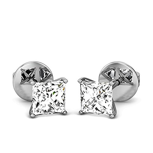 0.4 Ct Diamond Earrings - 7