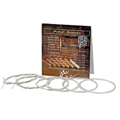 Oud Strings, Nylon Silver Plated Copper ...