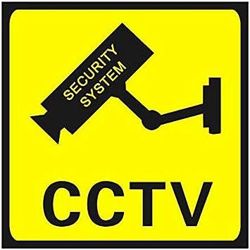 Opinión sobre Surobayuusaku CCTV Surveillance Security 24 Hour Monitor Camera Warning Stickers Sign Lables
