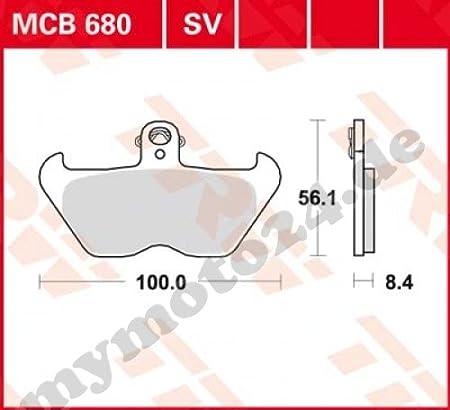 /SINTER Performance mit ABE General Betriebssystem Behindertenausweis TRW//Lucas MCB680SV Scheibenbremse/