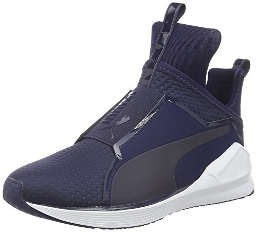 Puma Fierce Quilted - Zapatillas para Mujer Azul (PEACOAT-puma White 04)