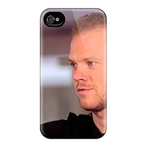 Perfect The Football Player Of Moscow Lokomotiv Vitaliy Denisov Case Cover Skin For Iphone 4/4s Phone Case