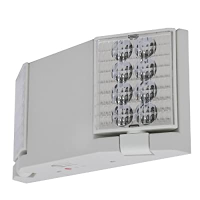 LFI Lights - LED Emergency Light - Flush or Adjustable Heads - ELFW2
