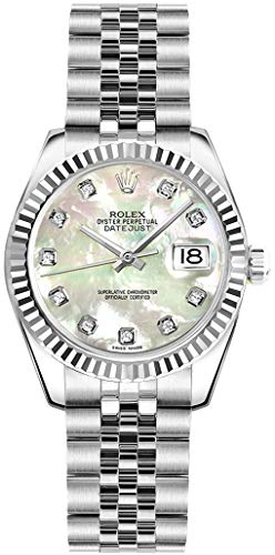Rolex Lady-Datejust 26 179174 Mother of Pearl Dial with Diamonds