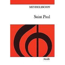 Felix Mendelssohn: Saint Paul (Vocal Score)- Novello Edition