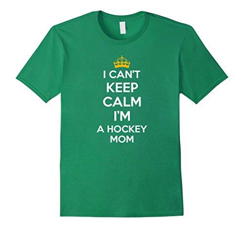 - Men's I Can't Keep Calm I'm A Hockey Mom Shirt Funny Hockey Shirts 2XL Kelly Green