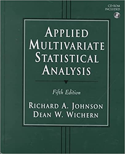 Amazon Com Applied Multivariate Statistical Analysis 6th Edition