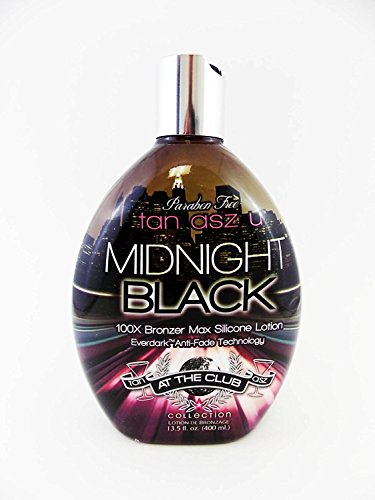Tan Asz U MIDNIGHT BLACK 100X Bronzer - 13.5 oz. by Brown Sugar