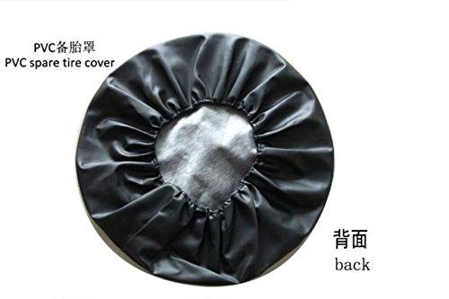 Roue de Secours Pneu Coque S Uzuki Grand V Itara Heavy Denim Vinyle couvertures de Pneu 15
