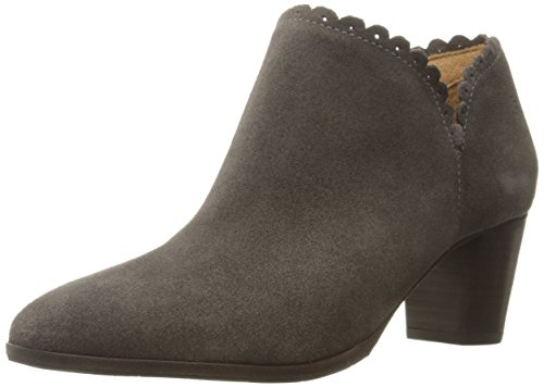 Price comparison product image Jack Rogers Women's Marianne Suede Boot, Dark Grey, 9.5 M US