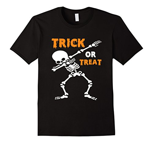 Father And Toddler Son Halloween Costumes (Mens Funny Trick or Treat T-shirt Best Halloween Costume Gift Tee 3XL Black)