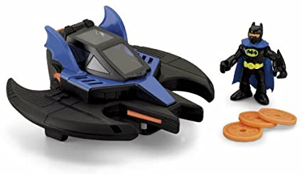 Batman /& Batwing with Joker Fisher Price CMX14 Fisher-Price Imaginext DC Super Friends