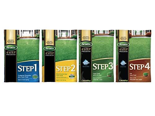 Scotts Complete 4 Step Lawn Program - 5,000 Sq. Ft. Complete Program ()