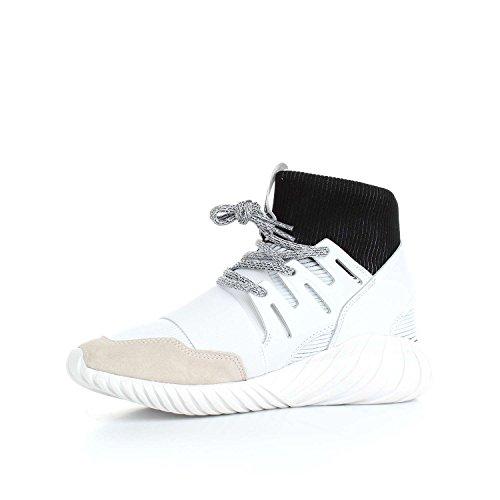 Chaussures adidas - Tubular Doom blanc/blanc/noir taille: 39 1/3