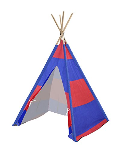 - Heritage Kids Red & Navy Stripes Play Tent, Multi