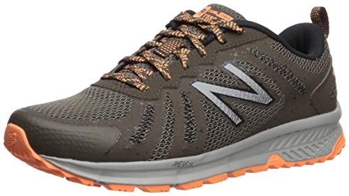 New Balance Women's 590v4 FuelCore Trail Running Shoe Light Chalkboard/Mango/rain Cloud 5.5 D US by New Balance (Image #1)