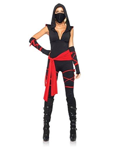 Costume Character Mystique (Deadly Ninja Costume - Medium - Dress Size)