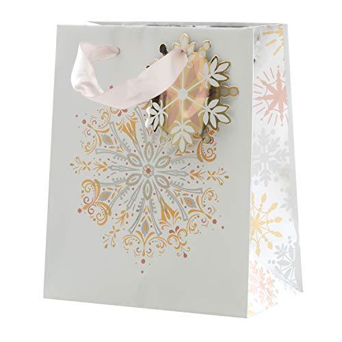 """Hallmark 25498460 X-Small""""Snowflake"""" Gift Bag"""