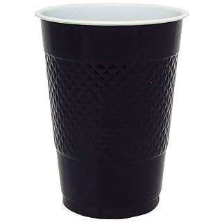 Hanna K. Signature Collection 50 Count Plastic Cup, 18-Ounce, Black (B007WM39ES) | Amazon price tracker / tracking, Amazon price history charts, Amazon price watches, Amazon price drop alerts