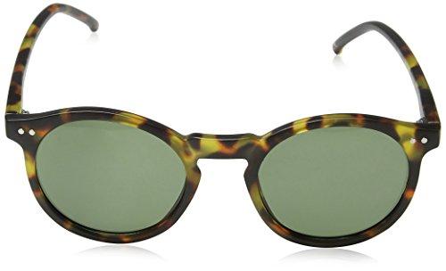 New Look Herren Sonnenbrille Rounds, Braun (Brown Pattern), 50