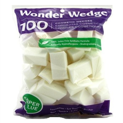 Wonder Cosmetic Wedge, 100 Count, Pack of 3