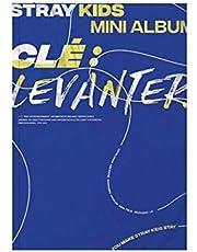 STRAY KIDS Cle : Levanter Album ( LEVANTER Version ) CD+Photobook+3 QR Photocards+(Extra 4 Photocards + 1 Double-Sided Photocard)
