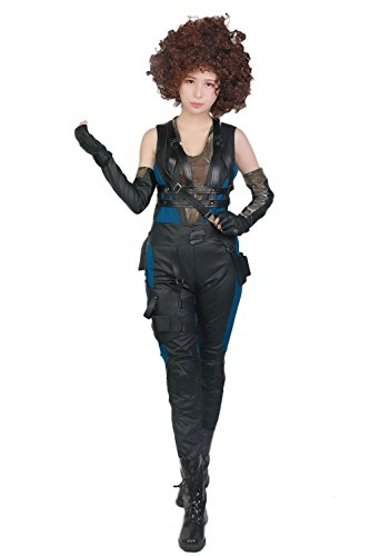 Domino Cosplay Costume Suit for Womens Halloween Cosplay M]()