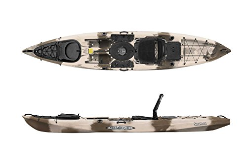 Malibu Kayaks Stealth-14 Ultimate Fishing Kayak, Desert Camo