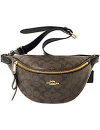 Signature Belt Bag F48740 IMAA8 Brown/Black