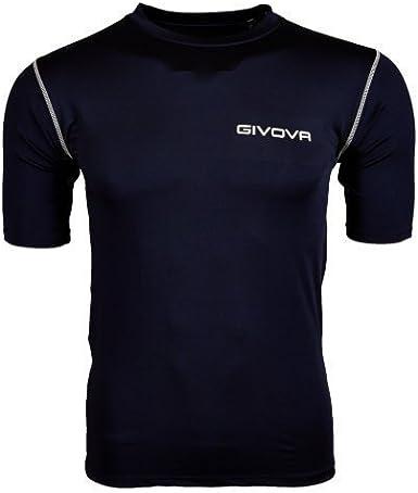 TALLA S. Givova Corpus 2 Suéter Elástico Íntimo M/C Camiseta, Unisex Adulto