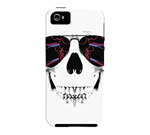 Electric Feel iPhone 5/5s White Tough Phone Case - Design By Humans