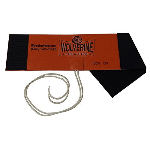 Wolverine Heaters - Model FH-100 - 100 Watts - Fuel Filter Heater - 12 Volts