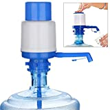 Universal Manual Drinking Water Pump 5 Gallon Water Bottle Cooler Dispenser Water Bottle Switch for Home Kitchen Office (Blue)