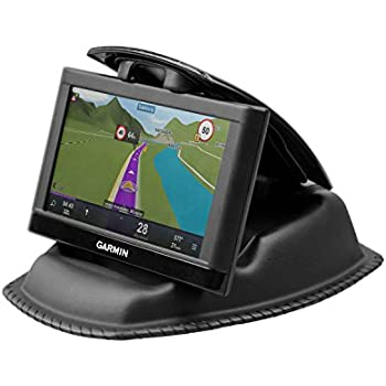 amazonbasics gps dashboard mount for garmin tomtom magellan and other portable gps. Black Bedroom Furniture Sets. Home Design Ideas
