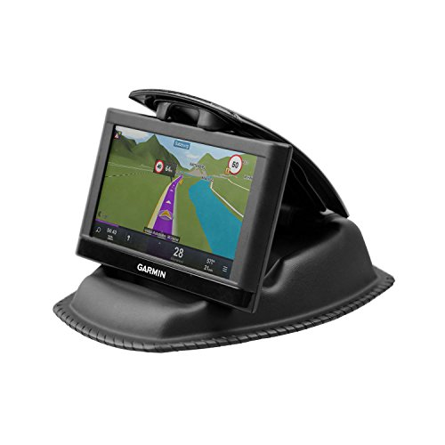 Gps Device Holder - GPS Mount, APPS2Car GPS Dashboard Mount Nonslip Beanbag Friction GPS Holder for Garmin Nuvi Tomtom Via GO Magellan Roadmate & Other 3.5-6 Inch GPS Devices & Smartphones