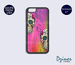 iPhone 6 Case - 4.7 inch model - Colorful Skull iPhone Cover