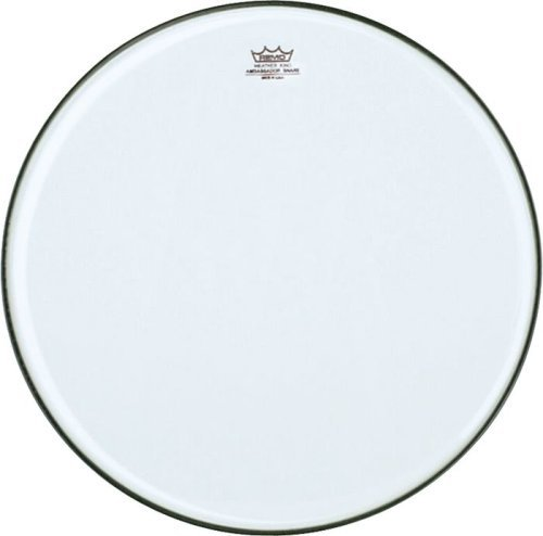 Remo SA0313-TD Clear Ambassador Marching Snare Side Drum Head (13-Inch) - No Collar ()