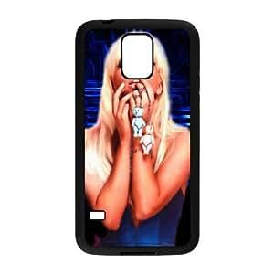 Lady Gaga Samsung Galaxy S5 Cell Phone Case Black xlb-194028