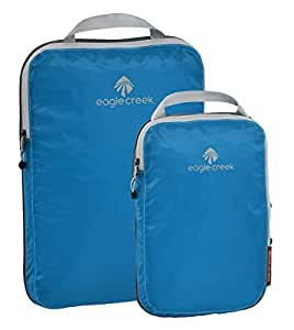 Eagle Creek Hardside Luggage Set, 2 Piece, Brilliant Blue, 36 Centimeters 104EC411861531004