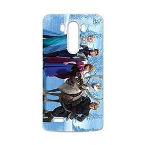 HUAH Frozen Princess Elsa Anna Kristoff Olaf Sven Hans Cell Phone Case for LG G3 by icecream design