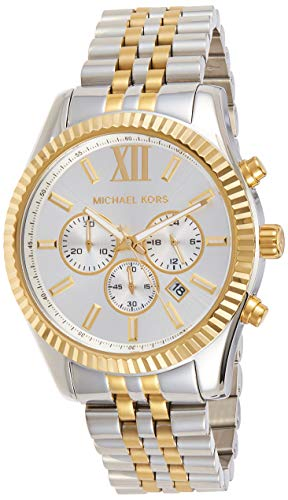 Michael Kors Men's Lexington Two-Tone Watch MK8344