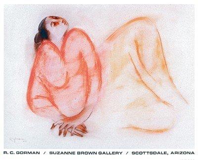 Reclining Woman - R.C. Gorman Art Print Poster