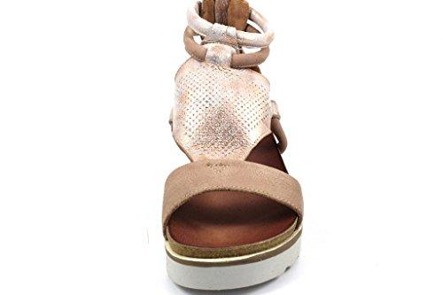Mjus Ladies 221036-0101-6328 Sandali Con Il Cinturino Rosso