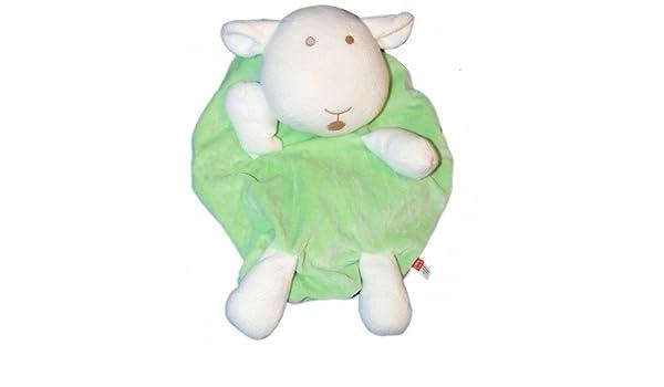 Doudou peluche Range pijama oveja verde - Tex Baby Carrefour - 35 x 22 cm cm: Amazon.es: Bebé