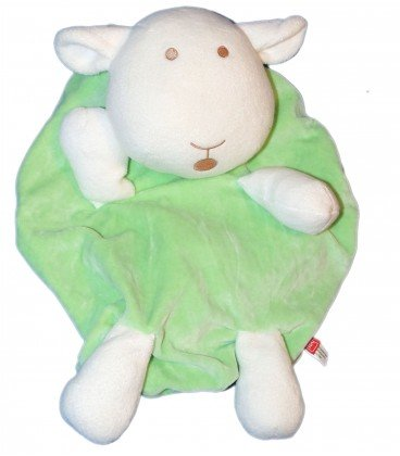 Doudou peluche Range pijama oveja verde – Tex Baby Carrefour – 35 x 22 ...