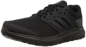 adidas Performance Men's Galaxy 3 m Running Shoe, Black/Black/Black, 9.5 Medium US